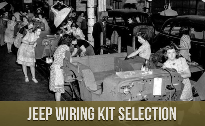 M.V. Spares Jeep Wiring Kit Selection